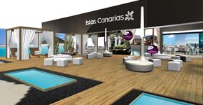 Stand Canarias en Fitur