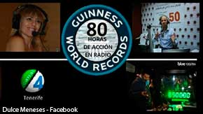 Record Guiness Canal 4 Radio