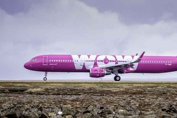 quiebra de Wow Air
