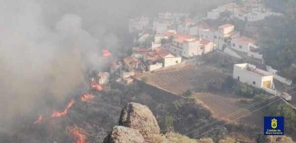 incendio de Valleseco